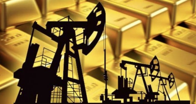 prezzo oro prezzo petrolio