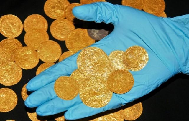 monete d'oro dei tudor